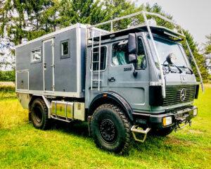 Fernreisemobil / Expeditionsmobil MB 1422 AF