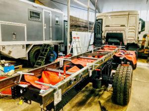Hilfsrahmenbau Expeditionsmobil